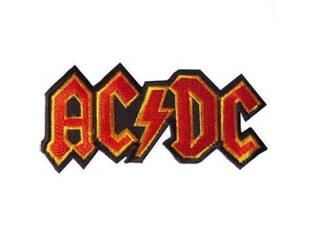 AC/DC tygmärke patch merchandise