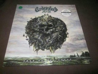 Entombed A.D - Back to the Front Grön vinyl Ltd 200x (ghost