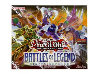 Yu-Gi-Oh! Battles of Legend, Light's Revenge. Sealed Booster box, 24 Boosters,!