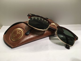 Vintage 1990s Bausch & Lomb Ray Ban Clubmaster