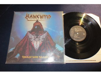 Hawkwind : Lp  Choose Your Masques  RARE
