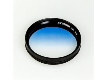 B&W 55mm Pro Filter,(Farbverlauf), Soft Grad Blue,Rotation mount,Unused,Mint