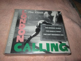 CLASH LONDON CALLING  2 CD PLUS DVD