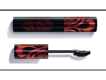 Max Factor 2000 Calorie Curl Addict Mascara Black