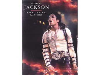MICHAEL JACKSON-DVD 2007 Foldout A5 Digi-The Real History 1981-1996