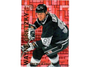 Ultra 1994-95 Premier Pivot 4 Wayne Gretzky Los Angeles Kings