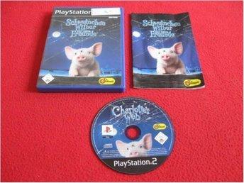 CHARLOTTES WEB till Playstation 2 PS2 - Blomstermåla - CHARLOTTES WEB till Playstation 2 PS2 - Blomstermåla
