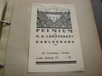 Premium vid H.A. Läroverket i Karlskrona - Jämjö, Blekinge - Premium vid H.A. Läroverket i Karlskrona - Jämjö, Blekinge