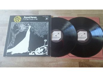 Procol Harum Dubbel LP - A Whiter Shade Of Pale / A Salty Dog