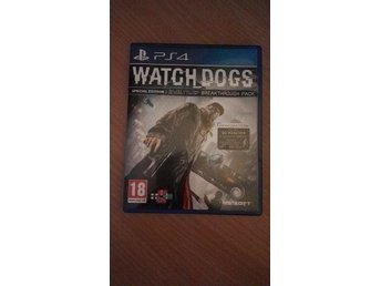 Watch Dogs PS4 spel - Stockholm - Watch Dogs PS4 spel - Stockholm