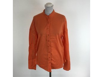 By Malene Birger, Skjorta, Strl: 40, Orange, Skick: Normalt