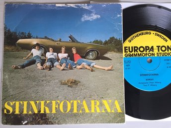 STINKFOTARNA, SWE prog from 1977. Private press. Rare!