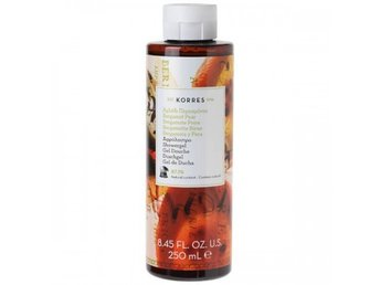 KORRES BERGAMOT & PEAR SHOWER GEL 250ml