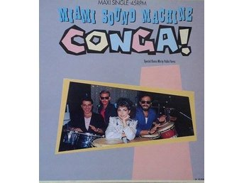 Miami Sound Machine  titel*  Conga! (Dance Mix)* 12