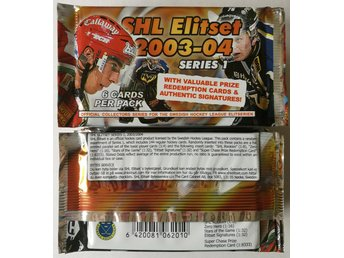 2003-2004 SHL Elitset Series 1 Hockey - 30 paket