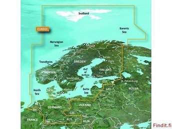 GARMIN  BLUE CHART G2 HD HEU800X 2014 North Europa