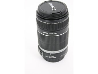 CANON Image Stabilizer efs 55-250mm f/4-5.6 is