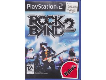 Rock Band 2, PlayStation 2