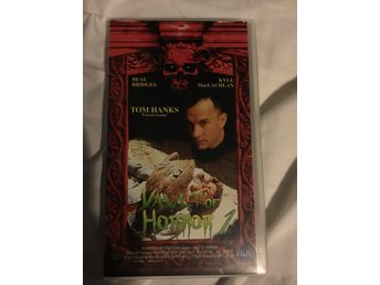 Vault of Horror 1 (VHS) (Tom Hanks) *Skräck *Utgått