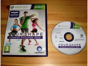 Xbox 360: Your Shape Fitness Evolved 2012