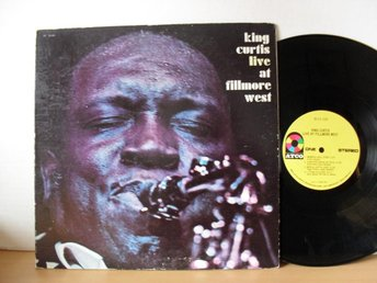 King Curtis Live at Fillmore West US LP 1971