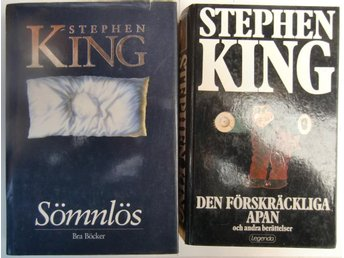 Stephen King x 2 böcker