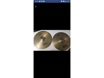 "Zildjian New Beat 14""Hi hat Cymbals hi hat"
