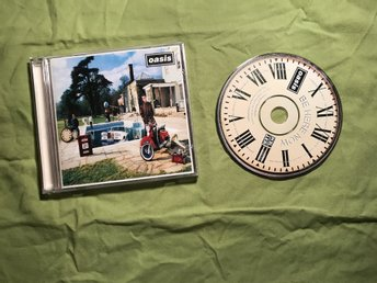 OASIS BE HERE NOW CD BRA SKICK