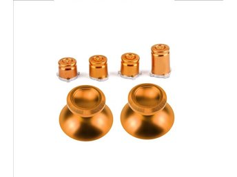 Metall Analog Spakar/ ABXY Bullet Buttons Xbox One Controller - Guld