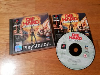 DIE HARD TRILOGY 2 VIVA LAS VEGAS PS1 BEG