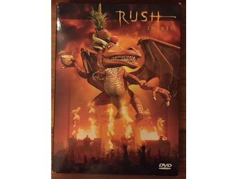 Rush in Rio DVDx2 PAL