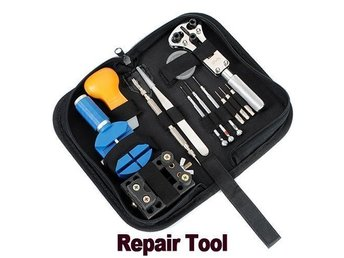 Watch Repair Tool Kit  Battery Bracelet Repairs Carrying Case NEW