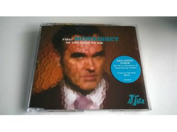 Morrissey - First Of The Gang To Die, CD, Single
