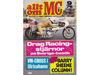Allt Om Mc 1976-9 BMW R90/6 Stor Test..Mc Dragracing