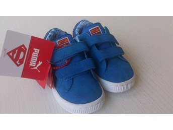 HELT NYA Puma, Sneakers, Suede Superman V KIDS