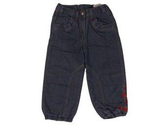 Claire.dk, Baggy Jeans med broderi blommor/hjärta 92 cl - Eskilstuna - Claire.dk, Baggy Jeans med broderi blommor/hjärta 92 cl - Eskilstuna