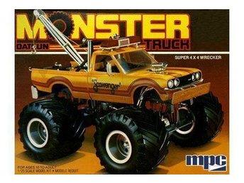 1975 Datsun Scavenger Monster Pickup truck - Höganäs - 1975 Datsun Scavenger Monster Pickup truck - Höganäs