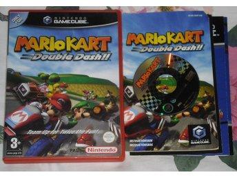 Nintendo GameCube: Mario Kart: Double Dash (svenskt/SWD) - Stockholm - Nintendo GameCube: Mario Kart: Double Dash (svenskt/SWD) - Stockholm