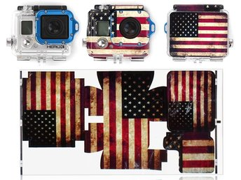 Gopro Hero 3 – USA Flagga