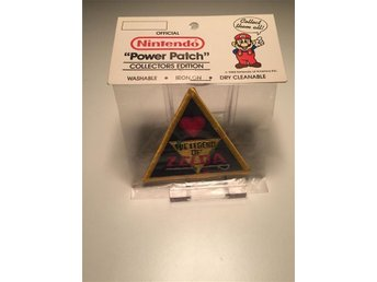 Nintendo Power Patch Zelda 1988 Collectors Edition Sealed/New