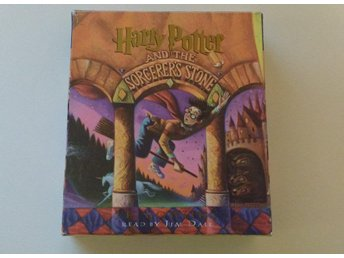 Harry Potter & The Sorcerer's Stone (vises sten) ljudbok CD (på engelska)