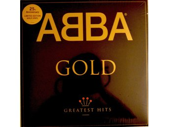 ABBA - Gold 25 Anniversary Guld Version NY LP