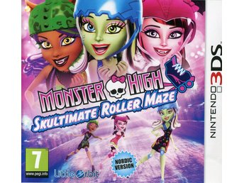 Monster High: Skutimate Roller Maze (På svenska)