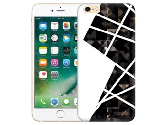 iPhone 6/6s Plus Skal White and Black