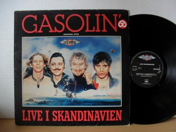 Gasolin Live i Skandinavien Holland LP