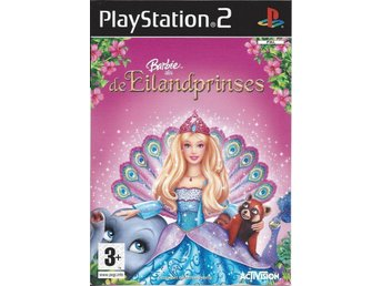 Playstation 2 Spel - Activision - Barbie as The Island Princess