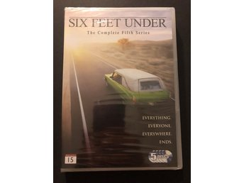 DVD - SIX FEET UNDER - THE COMPLETE FIFTH SERIES