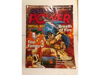 "Super Power Nr 1 1995 ""Virtua Boy, Breath of fire, Final Fantasy III"""