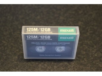 Maxell DAT 125M DDS3 Band