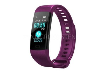 Smart Watch Sports Fitness Activity Tracker Purple Fri Frakt Ny